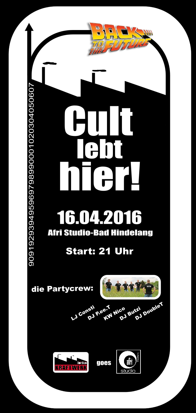 next Party 16. April 2016